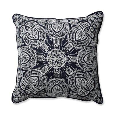 Quinn Throw Pillow Color: Navy