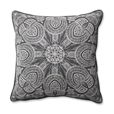 Quinn Throw Pillow Color: Gray