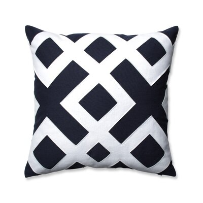 Caroline Throw Pillow Color: Blue
