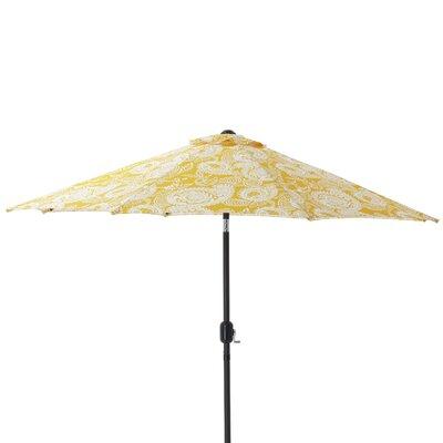 9 Addie Egg Yolk Patio Market Umbrella