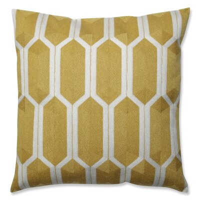 Graphic Detail Throw Pillow Color: Citron