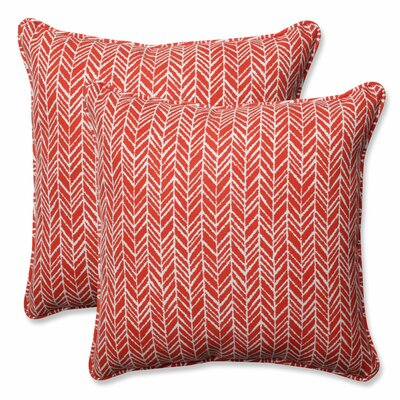 Herringbone Indoor/Outdoor Throw Pillow