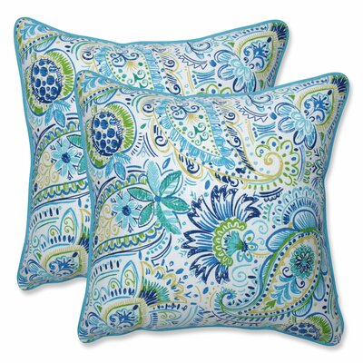 Gilford Baltic Indoor/Outdoor Throw Pillow