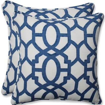 Claflin Square Outdoor/Indoor Throw Pillow