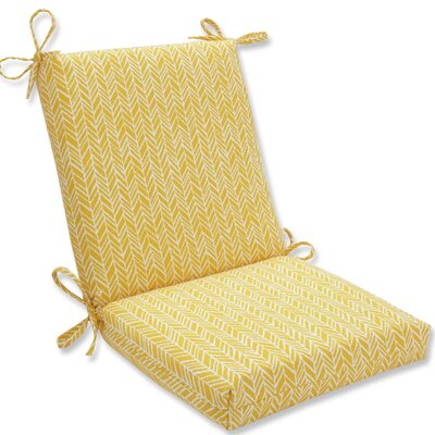 Herringbone Outdoor Adirondack Chair Cushion