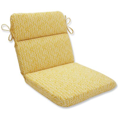 Herringbone Outdoor Dining Chair Cushion