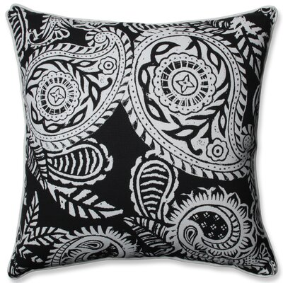 Addie Indoor/Outdoor Throw Pillow Color: Black