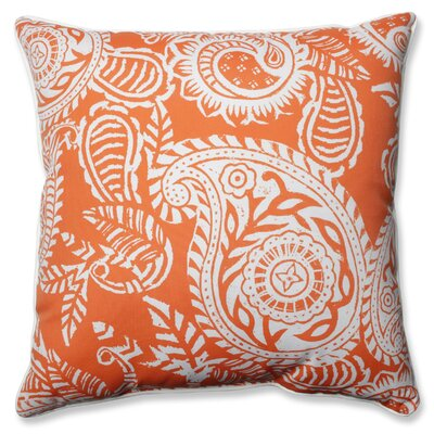 Addie Indoor/Outdoor Throw Pillow Color: Orange