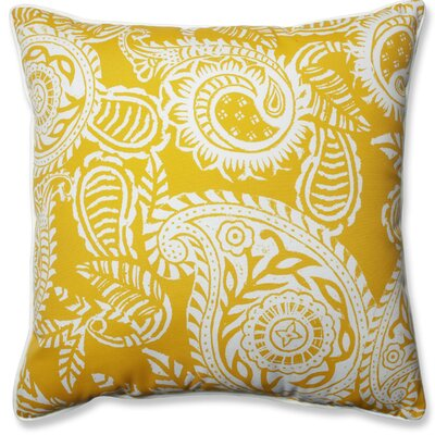 Addie Indoor/Outdoor Throw Pillow Color: Yellow