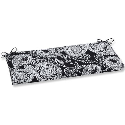 Addie Bench Cushion Fabric: Black