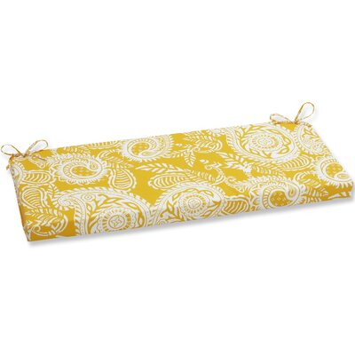 Addie Bench Cushion Fabric: Yellow