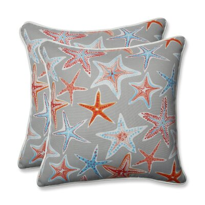Stars Collide Outdoor/Indoor Throw Pillow