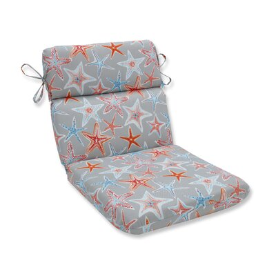 Stars Collide Rounded Corner Outdoor Dining Chair Cushion