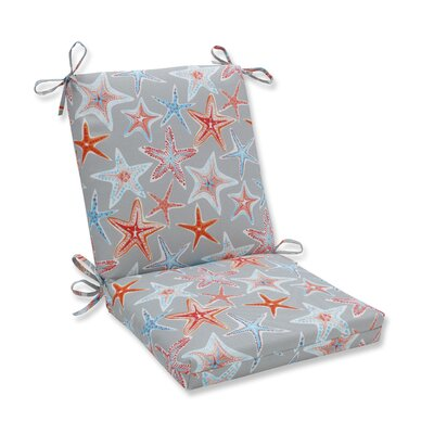 Stars Collide Squared Corner Outdoor Dining Chair Cushion