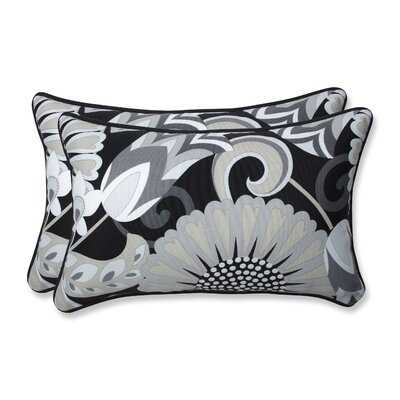 Sophia Outdoor/Indoor Throw Pillow Size: 11.5 H x 18.5 W x 5 D