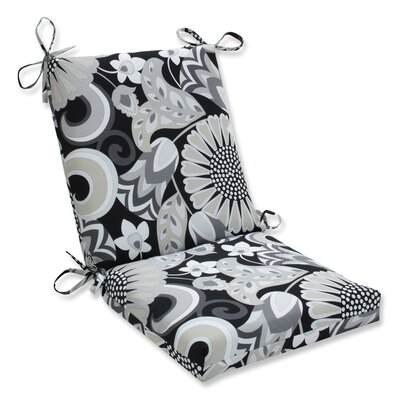 Sophia Squared Corner Outdoor Dining Chair Cushion