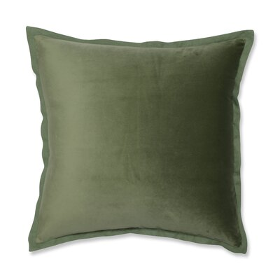 Benson Flange Loden Throw Pillow Color: Green