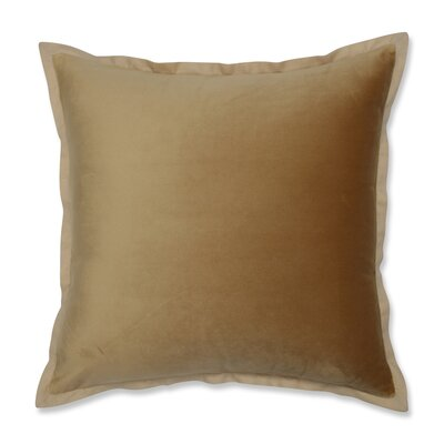 Benson Flange Loden Throw Pillow Color: Gold