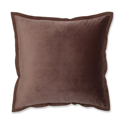 Benson Flange Loden Throw Pillow Color: Brown