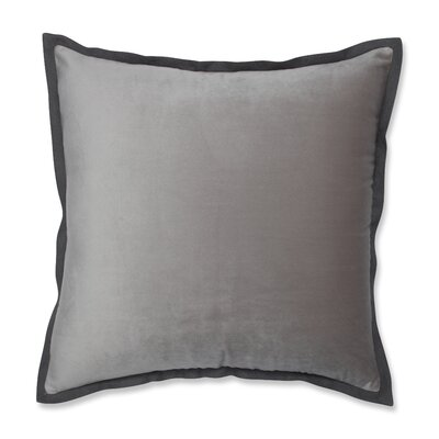 Benson Flange Loden Throw Pillow Color: Dove Gray