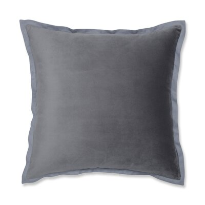 Benson Flange Loden Throw Pillow Color: Gray
