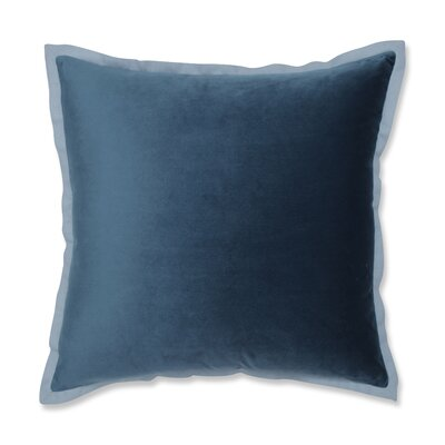 Benson Flange Loden Throw Pillow Color: Peacock Blue