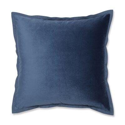 Benson Flange Loden Throw Pillow Color: Azure Blue