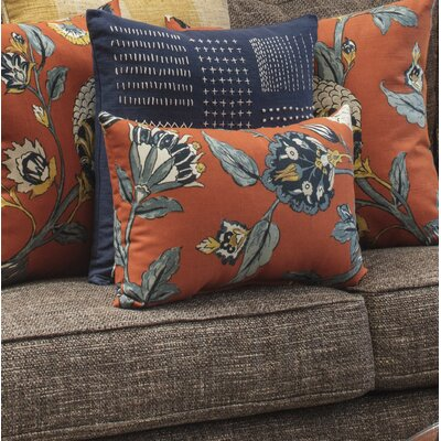 Septak Auretta Persimmon Lumbar Pillow