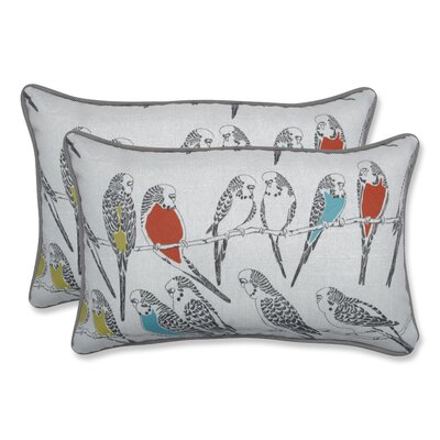 Retweet Mango Indoor/Outdoor Throw Pillow Size: 11.5 H x 18.5 W