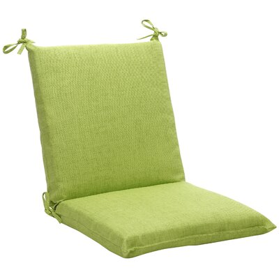 Outdoor Outdoor Lounge Chair Cushion Fabric: Green Textured Solid