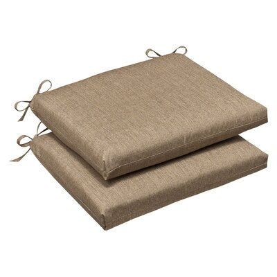 Outdoor Sunbrella Rocking Chair Cushion Color: Tan Textured Solid