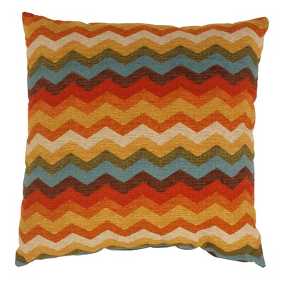 Panama Wave Cotton Throw Pillow Size: 23 x 23