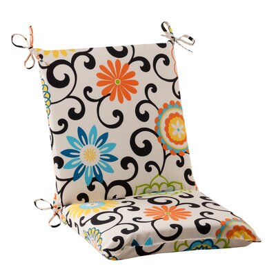Pom Pom Outdoor Chair Cushion