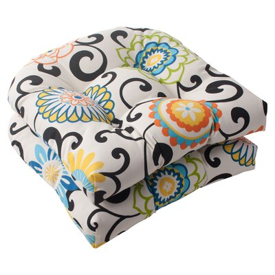 Pom Pom Outdoor Seat Cushion