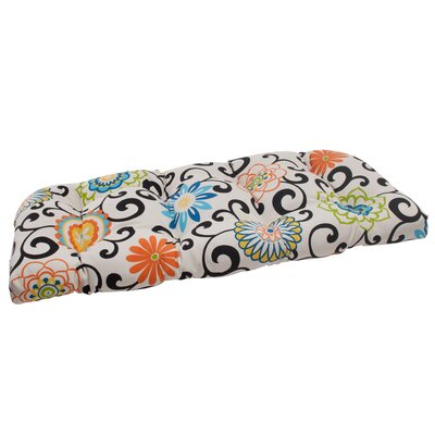 Pom Pom Outdoor Loveseat Cushion