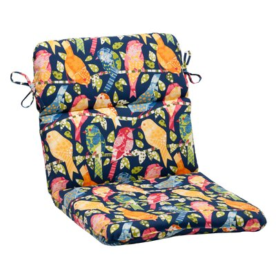 Ash Hill Outdoor Chair Cushion Color: Blue / Green / Orange / Red