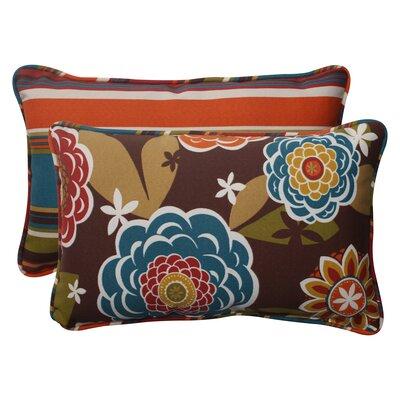 Annie Westport Reversible Indoor/Outdoor Lumbar Pillow Size: 16.5 H x 24.5 W x 5 D