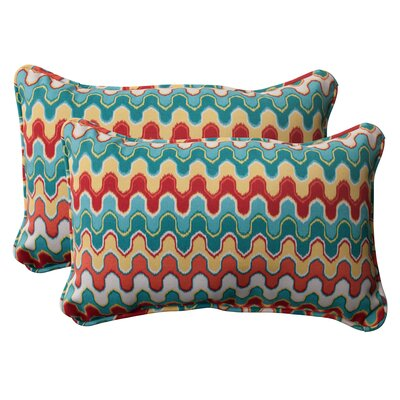 Nivala Corded Indoor/Outdoor Throw Pillow Size: 5 H x 11.5 W x 18.5 D