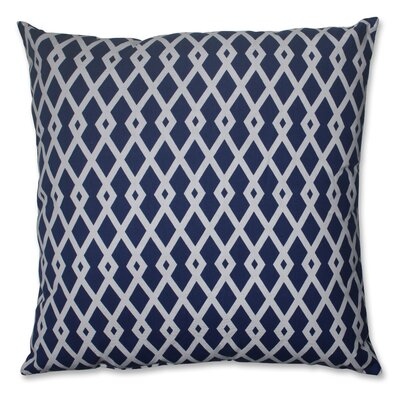 Cotton Floor Pillow Color: Ultramarine