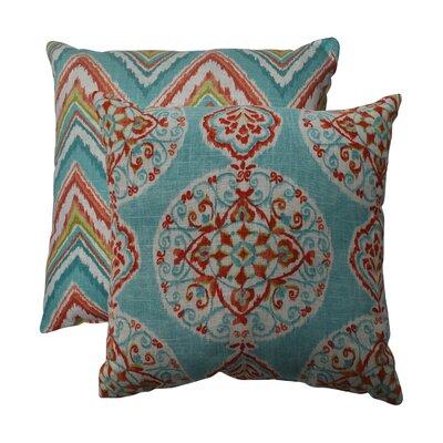 Tory Throw Pillow Size: 16.5 W x 16.5 D