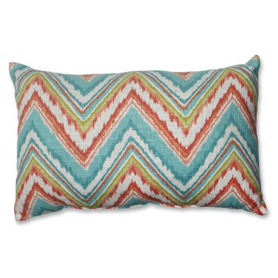 Chevron Cherade Lumbar Pillow