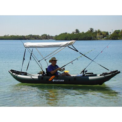 Image of Saturn Boats Saturn Pro-Angler Fishing Inflatable Kayak (FK396)