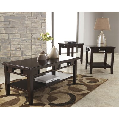 Arnot 3 Piece Coffee Table Set