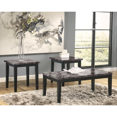 Taneya 3 Piece Coffee Table Set