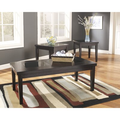 Denja 3 Piece Coffee Table Set