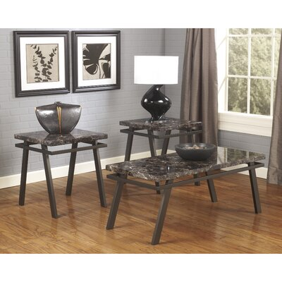 Paintsville 3 Piece Coffee Table Set