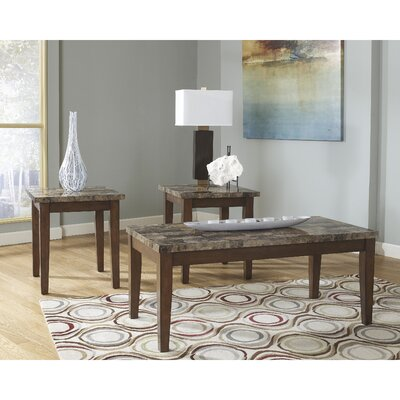 Ajinkya 3 Piece Coffee Table Set