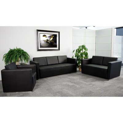 Trinity Series Leather Reception Set Product Photo