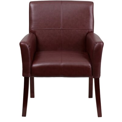Personalized Leather Executive Reception Chair Product Picture 2919