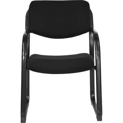 Side Chair with Steel Frame Fabric: Black